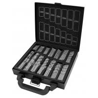Wholesale 99pcs Twist Titanium Drill Bit Sets for Drilling Metal , DIN 338 Standard HSS Drill Bits from china suppliers