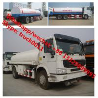 Wholesale Factory sale best price SINO TRUK HOWO 6*4 LHD 20m3 water sprinkling truck, HOT SALE! HOWO 20,000L cistern tank truck from china suppliers