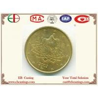 Wholesale Artwork 2002 Antique Brass Coin Gold Plated EB9066 from china suppliers