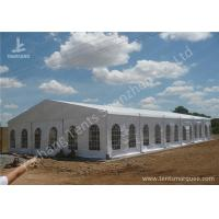 Wholesale Transparent PVC Windows Hard Aluminium Frame Tents , metal frame tent 15m by 30m from china suppliers