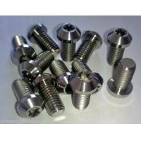 Buy cheap Titanium/Alloy parts Screw/Nuts Frame caps Gr1,Gr2,Gr3,Gr4,Gr5(Ti-6AL-4V),Gr7,Gr9,Gr12, etc. from wholesalers
