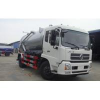 Quality high quality and cheapest price dongfeng tianjin RHD 10m3 sewage suction truck for sale for sale