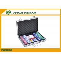 Wholesale Casino Colored Personalized Poker Chips Sets , Customizable Poker Chips from china suppliers