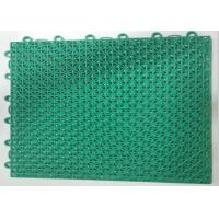 Buy cheap 10Mm Thick Green Facilities Sports Interlock Mi Word Assembling Floor For Fitness from wholesalers
