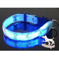 Wholesale Cute dog LED collar, for medium and small size dog from china suppliers