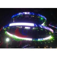 Wholesale SMD Led Curtain Screen Ribbon Shape , Commercial Advertising Flexible Led Display from china suppliers