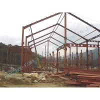 Wholesale Light Weight Steel Pre-engineered Factory Fabrication With Surrounding Cladding Panels from china suppliers