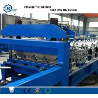 Wholesale Galvanized Steel Trapezoidal Sheet Metal Roll Forming Machines High Speed from china suppliers