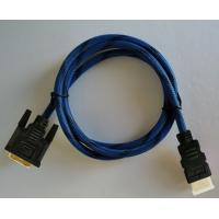 Wholesale HDMI To DVI Cable With 24K Gold Plated Connector 5Gbps High Speed 1080p HDMI Cables from china suppliers