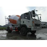 Wholesale Mobile Concrete Mixer Truck 4x2 6 Wheels 6m3 Cement Mixer Drum For Sinotruk from china suppliers
