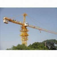 Buy cheap Tower Crane with 6T Maximum Lifting Weight and 50m Maximum Working Range from wholesalers