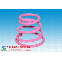 Wholesale High Strength Special Cone Shaped Springs Pink Powder Coated For Damping from china suppliers