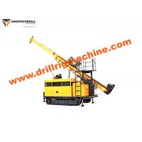 Wholesale Compact Crawler Drill Rig , Hydraulic Core Drilling Machine With BQ Drill Depth 1000m from china suppliers