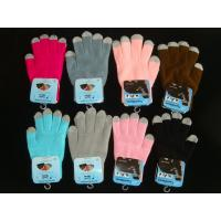 Wholesale touchscreen gloves, touch gloves, mobile touchscreen gloves,promotional gloves from china suppliers