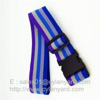 Wholesale Striped Polyester Travel Luggage band belts, Suitcase Band Belt Strap China factory from china suppliers