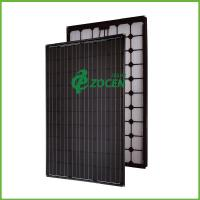 Wholesale 240W All Black Sroof Mounted Solar Panels PV Solar Module 1640*992*40mm from china suppliers