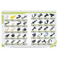 Wholesale Aluminum-Hook-Buckle-Carabiner-Rope-Tightener-Tie-Cord from china suppliers