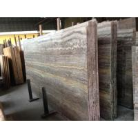 Wholesale Cheap Import Silver Dark Grey Vein Cut Travertine Marble In China Marble Window Sills from china suppliers