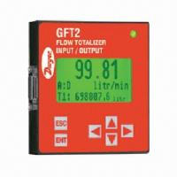 Buy cheap Flow Totalizer with Graphic LCD, Digital RS-232 or RS-485 Interface from wholesalers