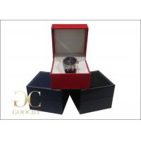 Wholesale Wedding Gift Leather Watch Boxes / Leather Watch Storage Case  from china suppliers