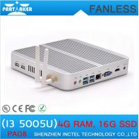 Wholesale Cheap mini pc station thin client with 5th Generation CPU Intel Core i3 5005U from china suppliers
