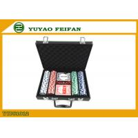 Wholesale 200 Pcs Personalised 11.5 Gram Poker Chip Sets With Leather PU Case from china suppliers