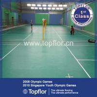 Wholesale indoor/outdoor interlocking badminton court sports floor from china suppliers