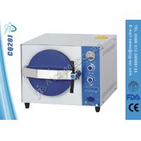 Wholesale Stainless Steel Table Top Autoclave Steam Sterilizer With Double Lock Door from china suppliers