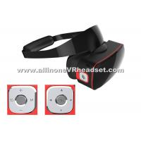 Wholesale 1920x1080 Screen Wireless VR Headset , 4000mAh Battery 3D Movie VR Box from china suppliers