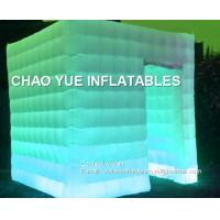 Wholesale LED Lighting Inflatable Air Tent 210D Oxford Fabric Material For Family Party from china suppliers