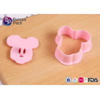 Wholesale Eco Friendly PP Mickey Mouse Biscuit Cutter Children Tableware Set from china suppliers