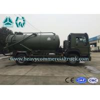 Quality Sanitary Vacuum Sewage Suction Trucks Electric Control 16 CBM 266 HP 12 Ton for sale