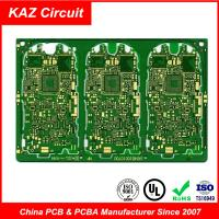 Buy cheap 4-10 layers FR4 1OZ ENIG/HASL/OSP HDI Printed Circuit Boards With Blind&Burried holes from wholesalers
