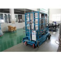 Buy cheap 400kg Capacity 12 Meter Mobile Scissor Lift Platform Four Mast For Two Men from wholesalers