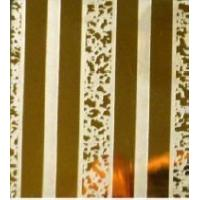 Wholesale Ti-golden Mirror Finish PVD Coating Color Etched / Etching Stainless Steel Sheets 430 from china suppliers