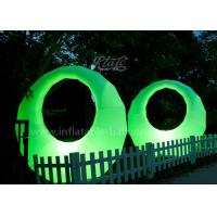 Wholesale Promotional Ring Shaped Inflatable Led Light Balloon Waterproof Oxford Fabric from china suppliers