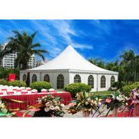 Wholesale Large Pagoda Commercial Grade Party Tents Steel Sturcture Material from china suppliers