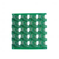 Wholesale 0.5 - 7 OZ FR4 pcb prototype fabrication OSP , Gold plating circuit board from china suppliers
