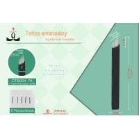 Wholesale Stainless Steel Permanent Makeup Microblading Tattoo Needls Sterilized With Gamma Rays from china suppliers