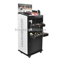 Wholesale Custom Floor Standing Cosmetic Display Stand Movable For Point Of Sale Retail from china suppliers