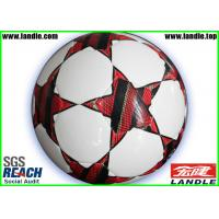 Wholesale Colorful Soccer Balls for Promotion Machine Stitched With Rubber Bladder from china suppliers