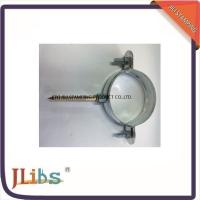 Quality Customised Galvanised Steel Hanging Pipe Clamps Riveted Nut M7 / M8 for sale