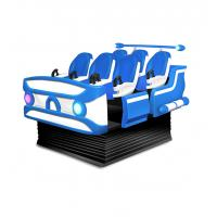 Wholesale 6 Seats Virtual Reality Cinema For Amusement Park Special Effects 1100W from china suppliers