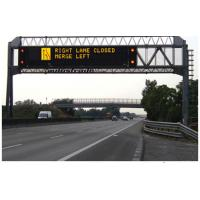 Quality High Brightness Highway Message Boards Modular Designs Big Capacity Date Logger for sale