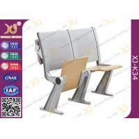 Wholesale Eco - Friendly Aluminum Alloy School Desk And Chair With Wood Table Aluminum Hinge from china suppliers