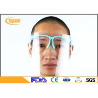 Wholesale PET Clear Disposable Face Shield With Sponge Frame For Dental Protection from china suppliers