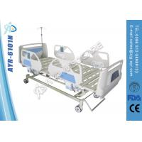 Wholesale Muti Functions Electric Medical Hospital Beds With CPR , Bulid In Controller from china suppliers