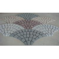 Quality Fanshaped Mixed Color Garden & Square Paving Stone for sale