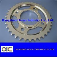 Wholesale Motorcycle Sprockets , type KAWASAKI GTO125 , KAZE-R , GTO110 from china suppliers