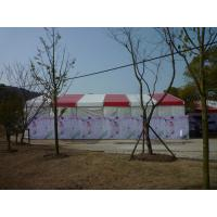 Quality Red Large Outdoor Tent Aluminum Frame Material For Opening Ceremony Fire - Proof for sale